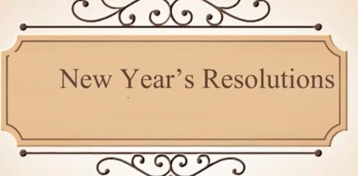 New Year's Resolution Ideas for 2021