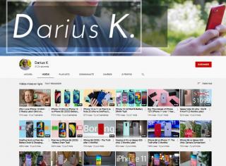 DariusKracht youtube channel
